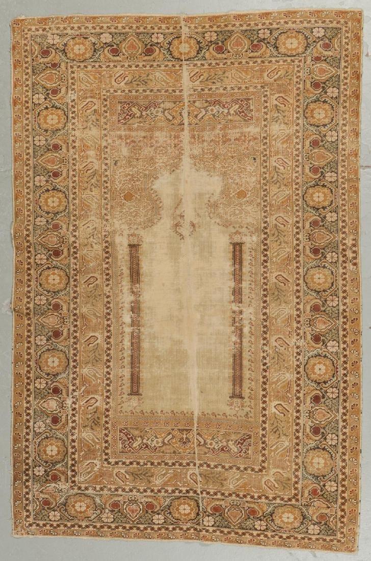 2 Antique Ghiordes Prayer Rugs, Turkey - 2