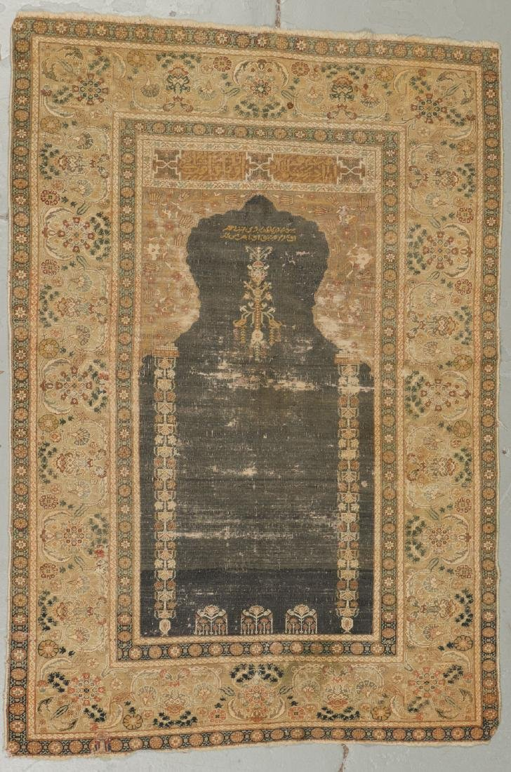 2 Antique Ghiordes Prayer Rugs, Turkey - 3
