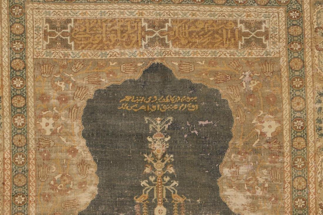 2 Antique Ghiordes Prayer Rugs, Turkey - 5