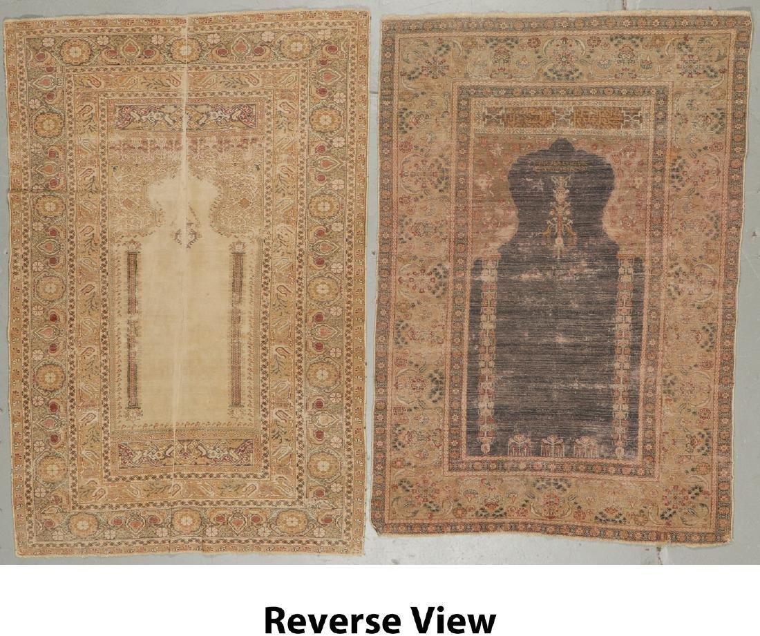 2 Antique Ghiordes Prayer Rugs, Turkey - 8
