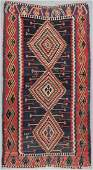 Antique Kuba Kilim, Caucasus: 5'10'' x 11'1''