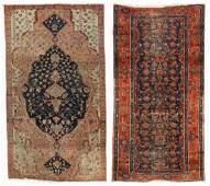 2 Antique Persian Estate Rugs