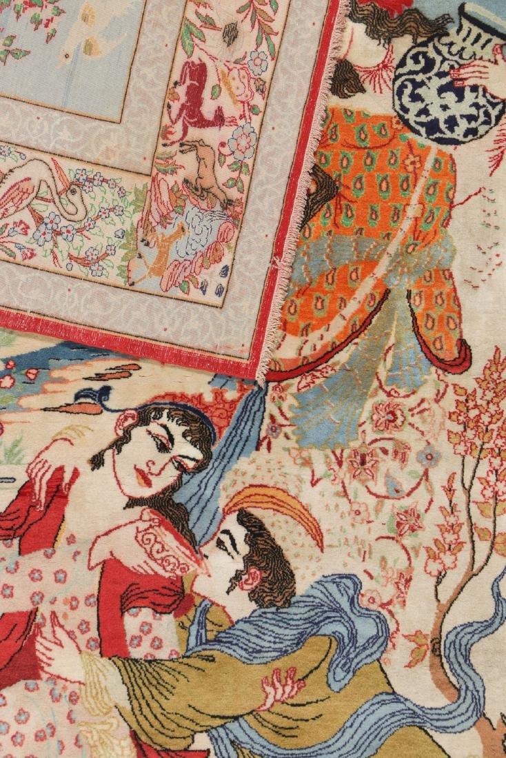 Semi-Antique Isfahan Rug, Persia: 3'6'' x 5'4'' - 4