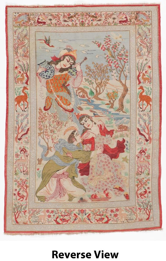 Semi-Antique Isfahan Rug, Persia: 3'6'' x 5'4'' - 6