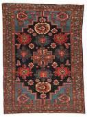 Antique Malayer Rug, Persia: 4'3'' x 5'11''