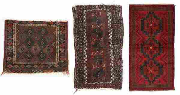 Antique Kurd Jaff Bagface, Beluch Rug & Afghan Rug (3)