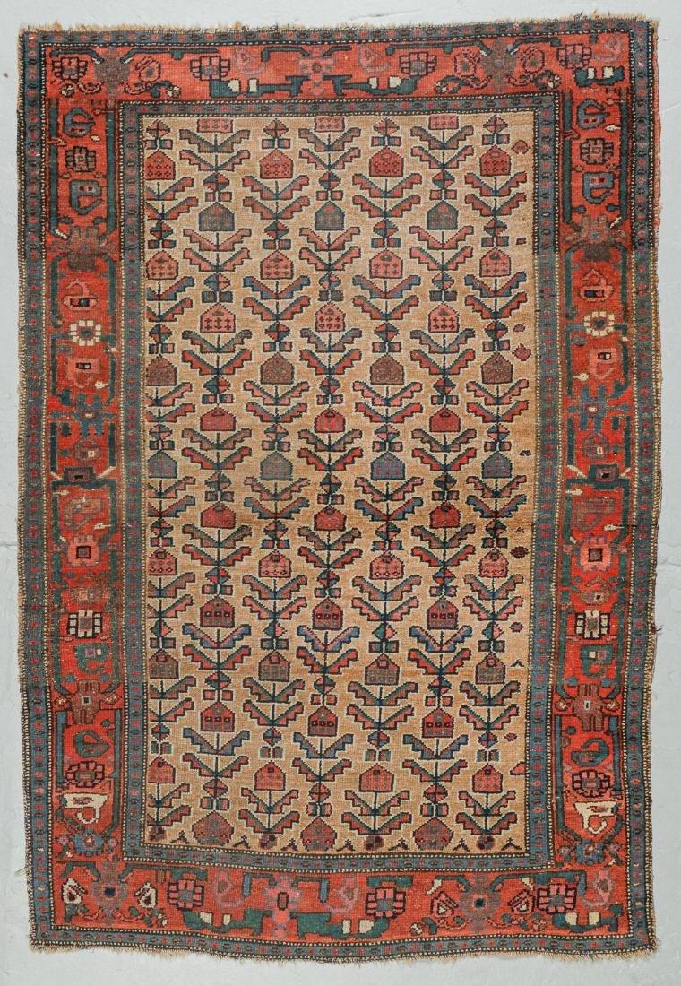 Antique Hamadan Rug, Persia: 4'3'' x 6'2''