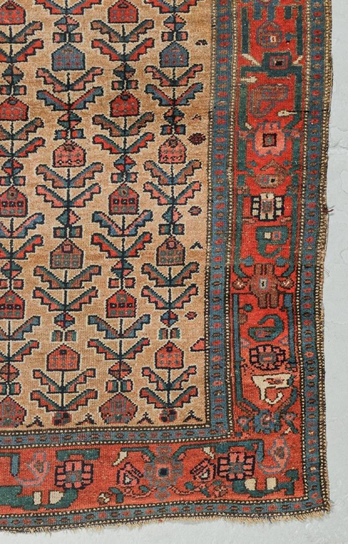 Antique Hamadan Rug, Persia: 4'3'' x 6'2'' - 3