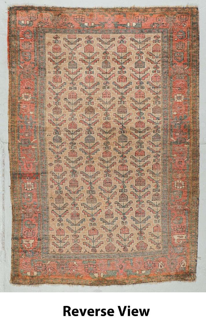 Antique Hamadan Rug, Persia: 4'3'' x 6'2'' - 6