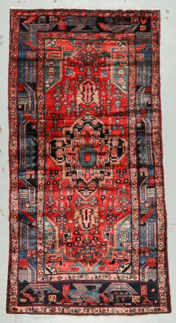 Semi-Antique Hamadan Rug, Persia: 4'3'' x 8'6''