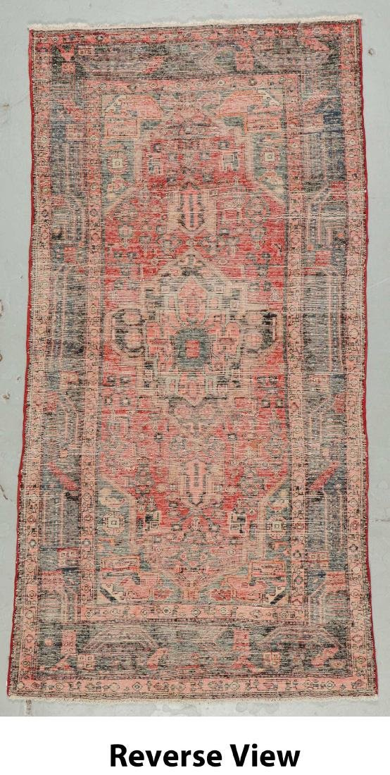 Semi-Antique Hamadan Rug, Persia: 4'3'' x 8'6'' - 6