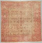 Antique Lavar Kerman Rug Persia 811 x 810