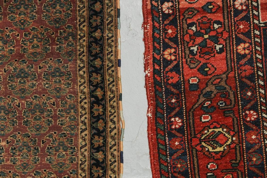 Antique Persian Afshar Rug & Baktiari Rug (2) - 3