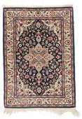 Vintage Indo Persian Rug, India: 2'2'' x 3'1''