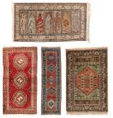 4 Vintage Turkish Rugs
