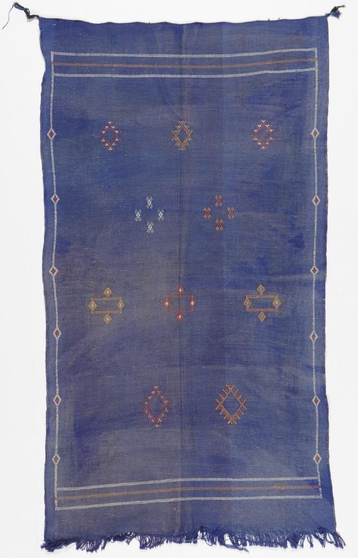 Modern Moroccan Flat Weave Rug: 3'5'' x 6'4''