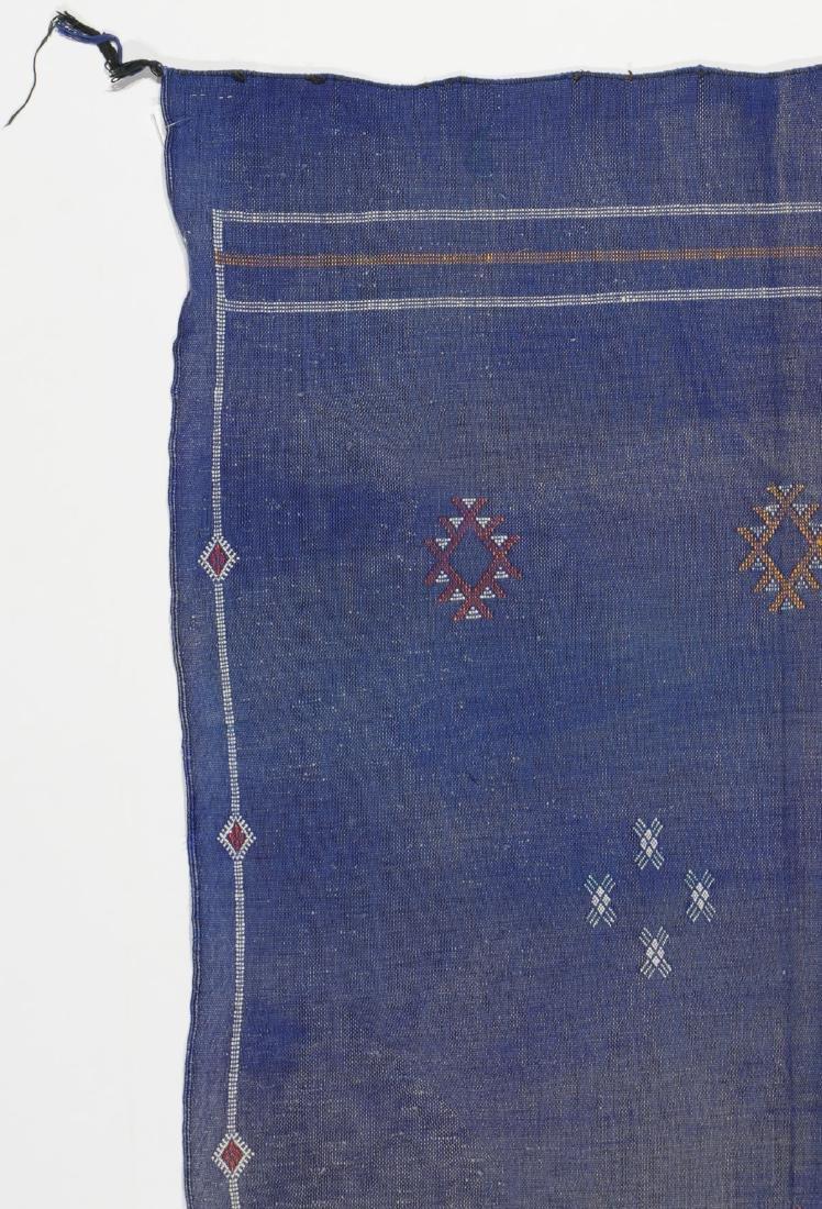 Modern Moroccan Flat Weave Rug: 3'5'' x 6'4'' - 2