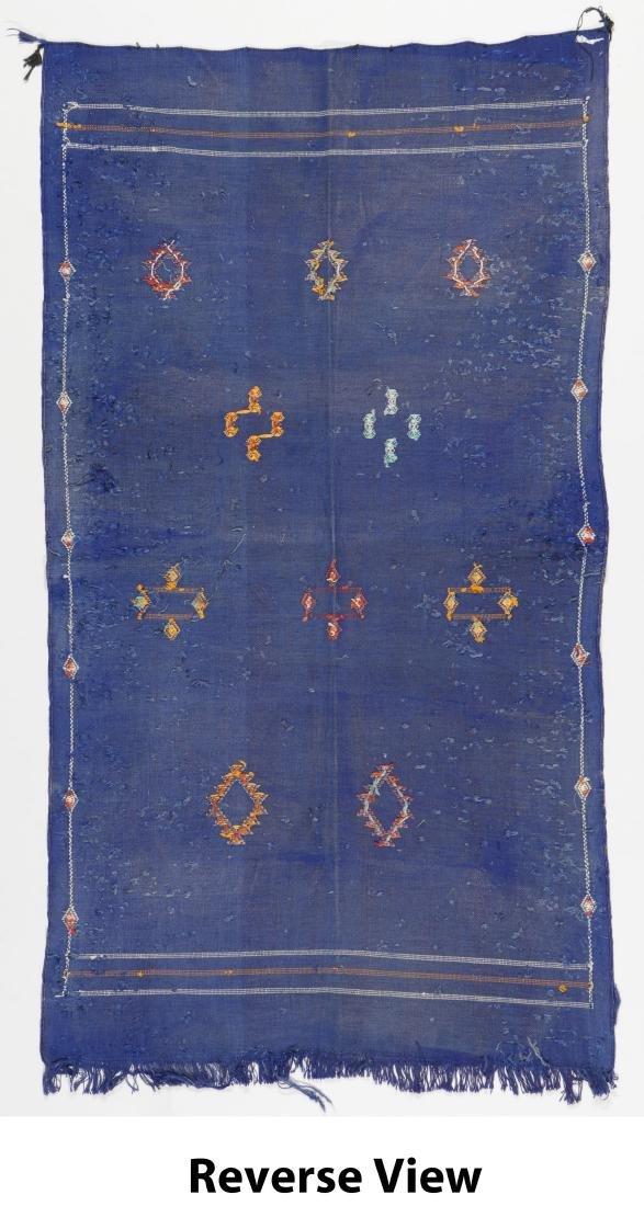 Modern Moroccan Flat Weave Rug: 3'5'' x 6'4'' - 6