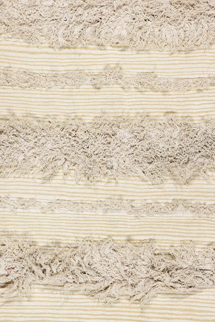 Vintage Moroccan Wedding Blanket: 4'2'' x 7'2'' - 2