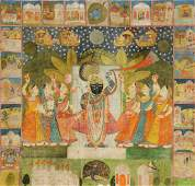 Antique Indian Pichvai Painting