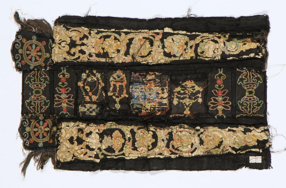 Tashi Taki Embroidery, China, Yuan Dynasty - 4