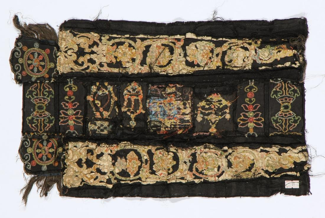 Tashi Taki Embroidery, China, Yuan Dynasty - 5