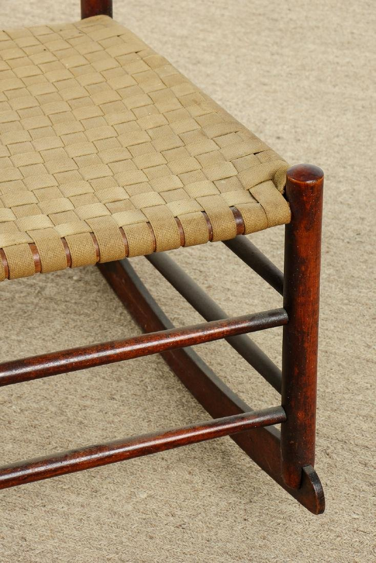 Antique American Shaker Rocking Chair - 2