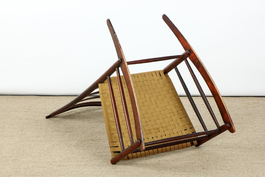 Antique American Shaker Rocking Chair - 6