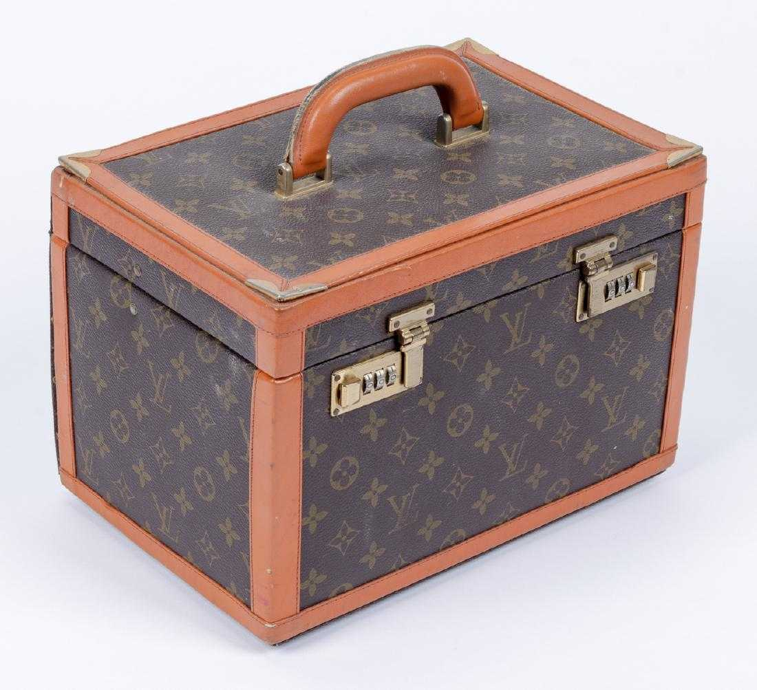 ff9475917f25 Vintage Louis Vuitton Monogram Vanity Cosmetic Bag