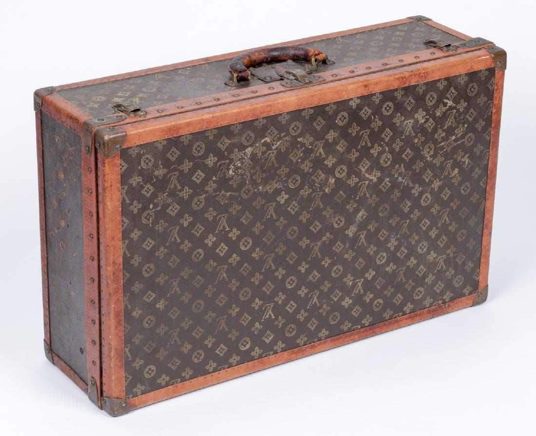 ba851f429b61 Vintage Louis Vuitton Monogram Hard Suitcase