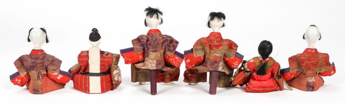 Collection of 17 Antique Geisha Dolls, Japan - 3