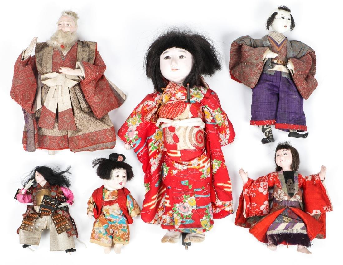 Collection of 17 Antique Geisha Dolls, Japan - 5