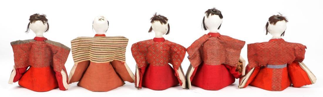 Collection of 17 Antique Geisha Dolls, Japan - 8
