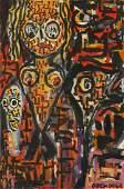 Francois Ozenda (1923-1976) Mixed Media
