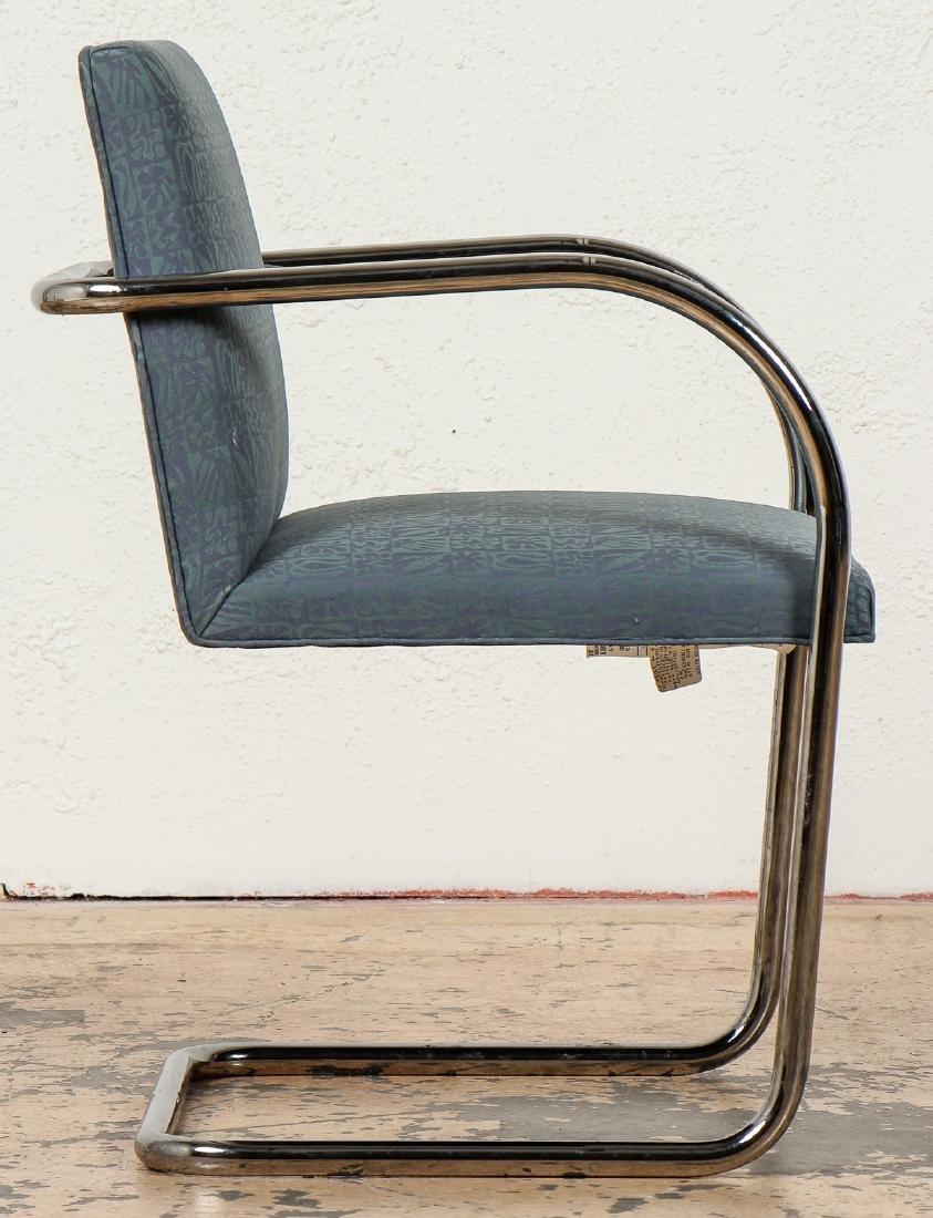 Set of 4 Knoll Brno Chairs, Mies Van Der Rohe - 4