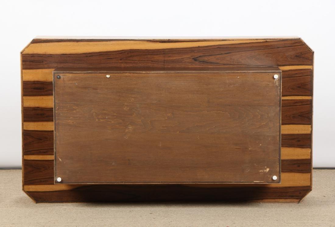Modern Sedona Burl Coffee Table - 6