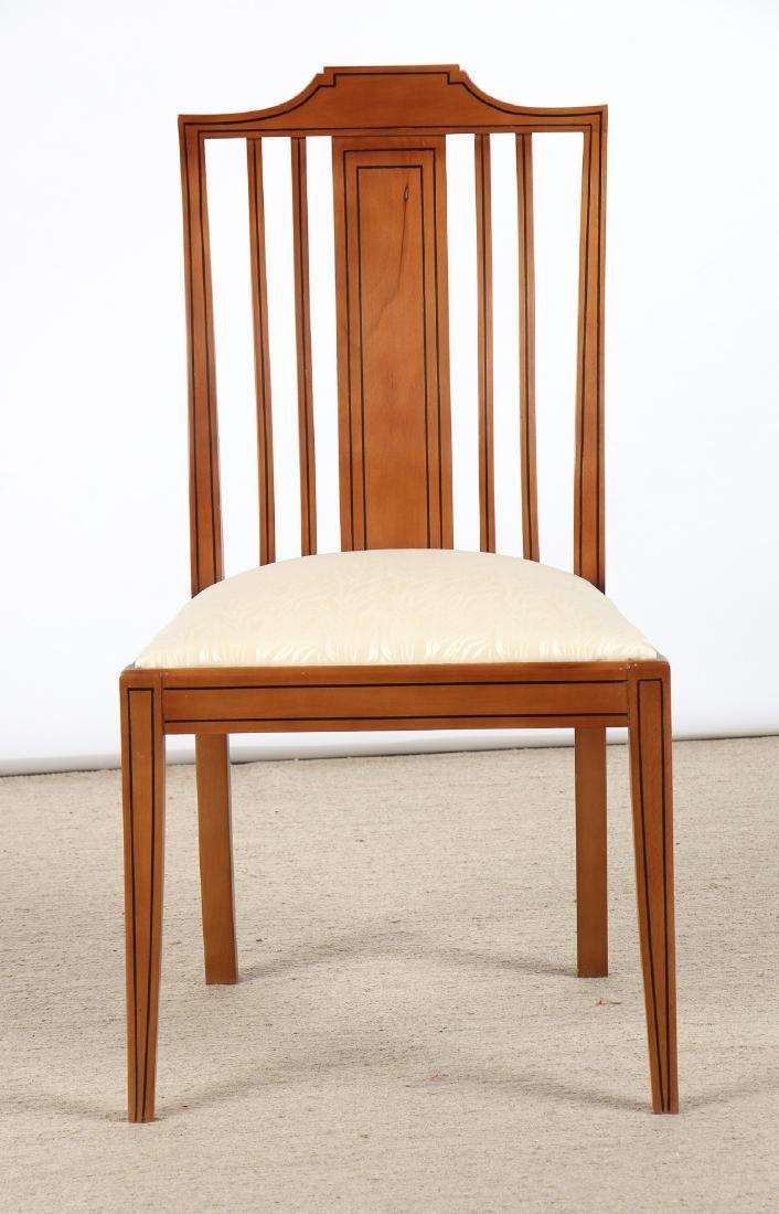 Set of 6 Modern Sheraton Style Side Chairs - 2