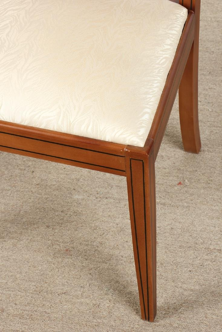 Set of 6 Modern Sheraton Style Side Chairs - 3