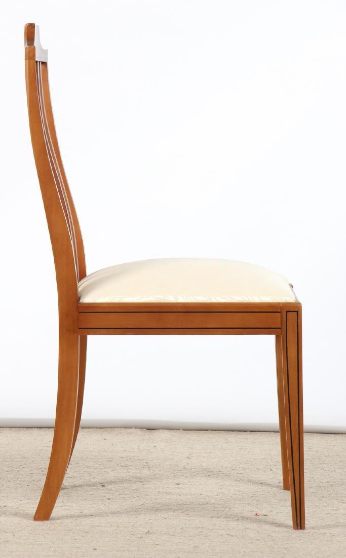 Set of 6 Modern Sheraton Style Side Chairs - 4