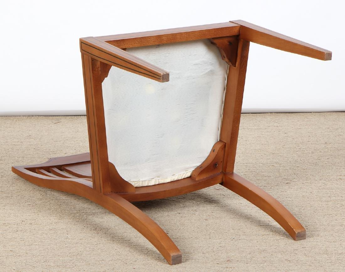 Set of 6 Modern Sheraton Style Side Chairs - 6