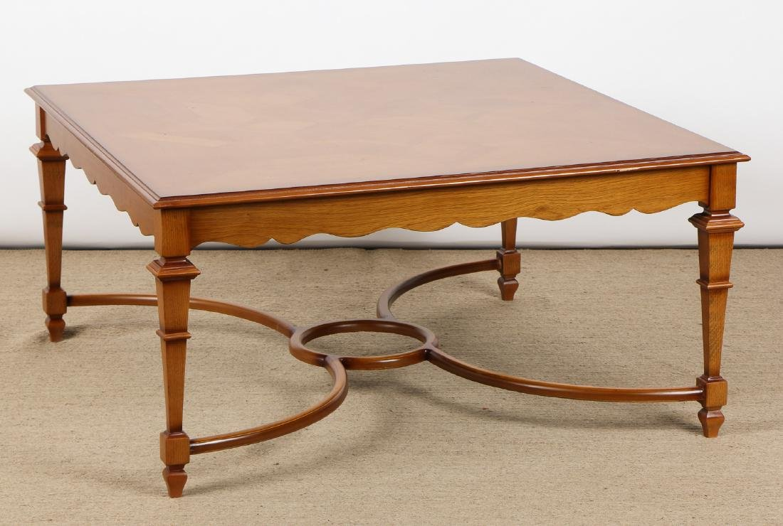 Modern Marquetry Cocktail Table