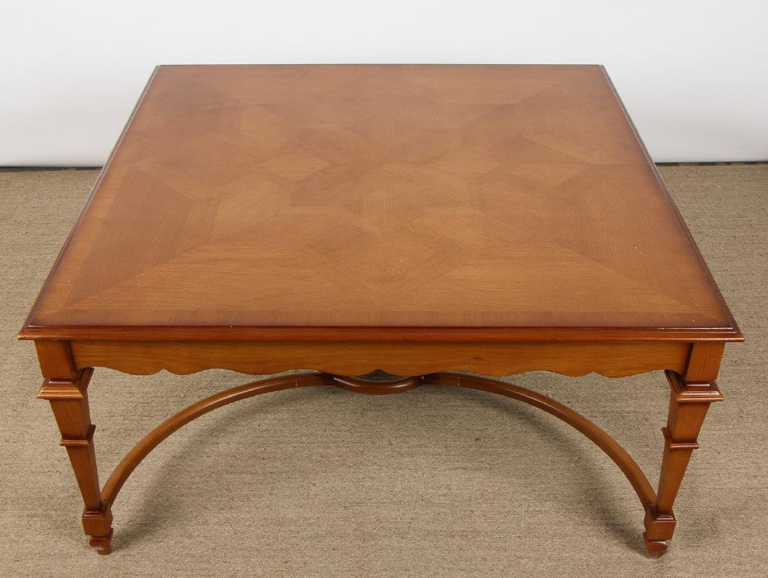 Modern Marquetry Cocktail Table - 3