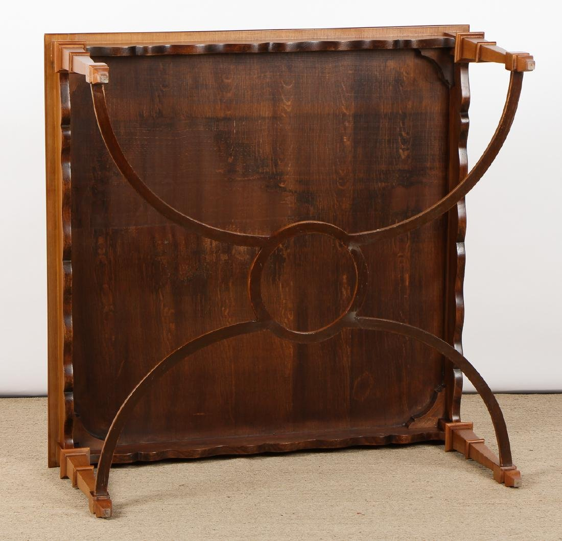 Modern Marquetry Cocktail Table - 5