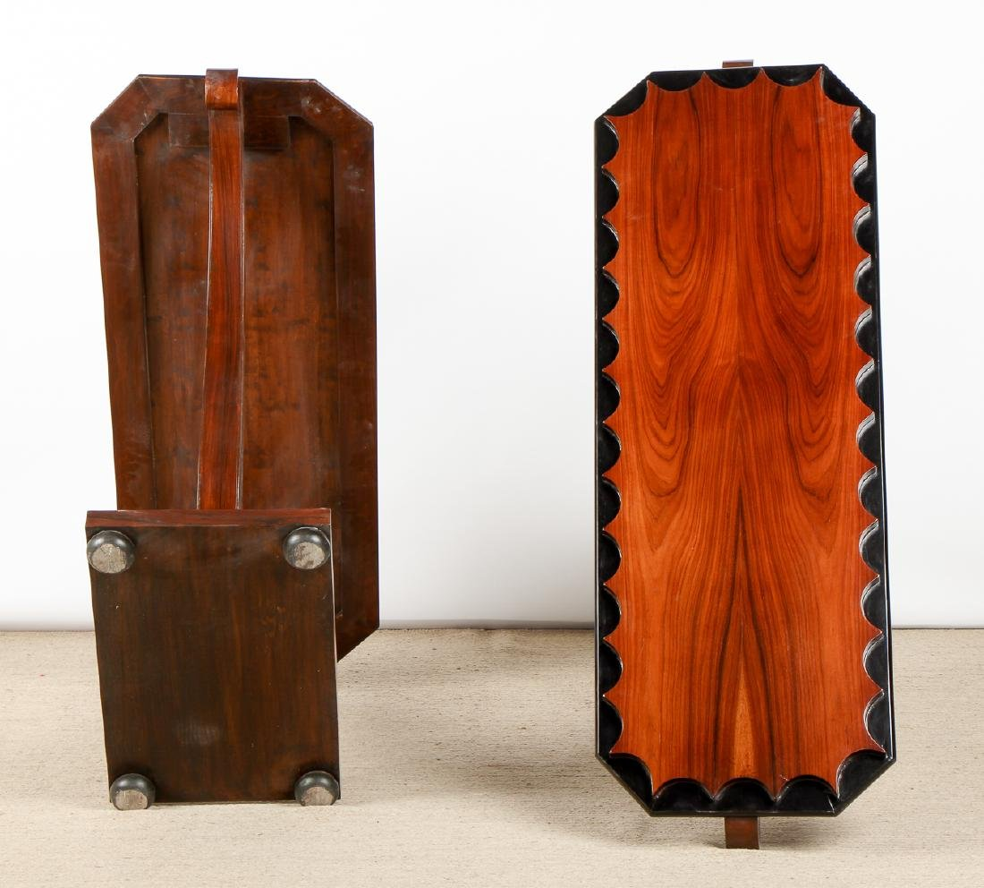 Pair of Modern Sofa Table/Consoles - 8