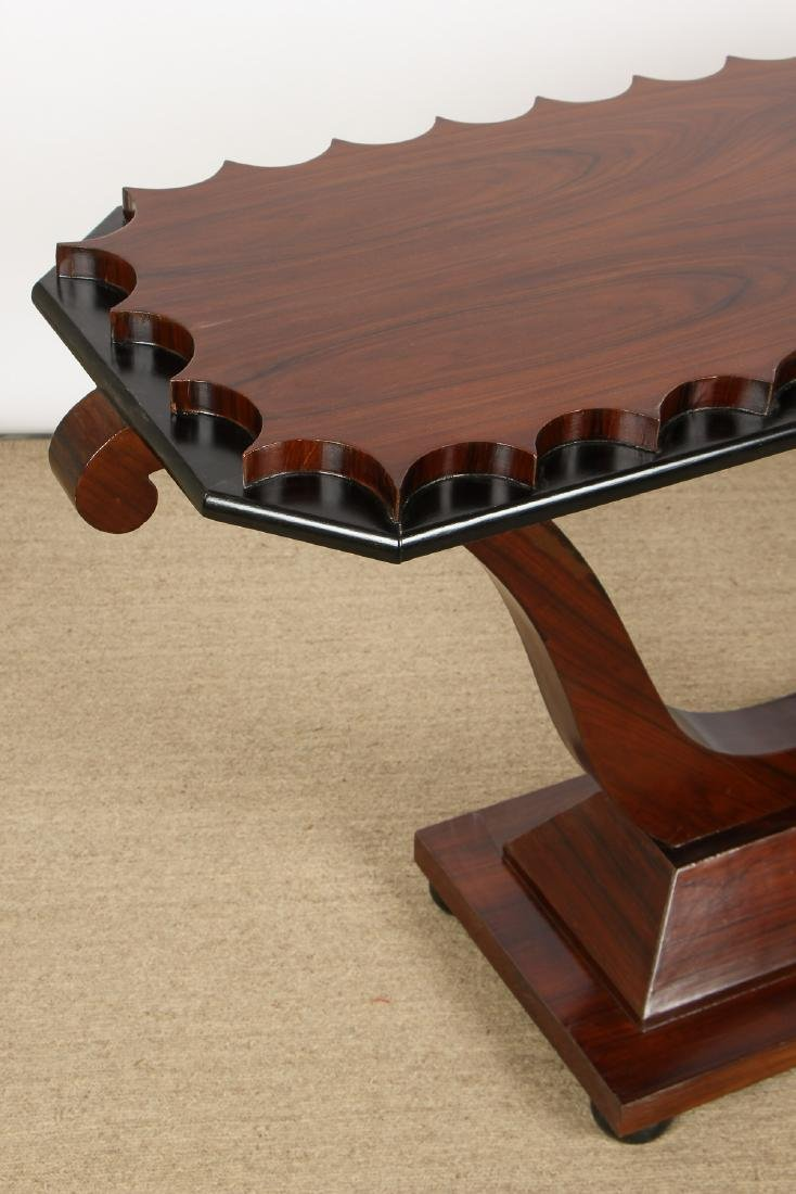 Modern Rosewood Sofa Table/Console - 2