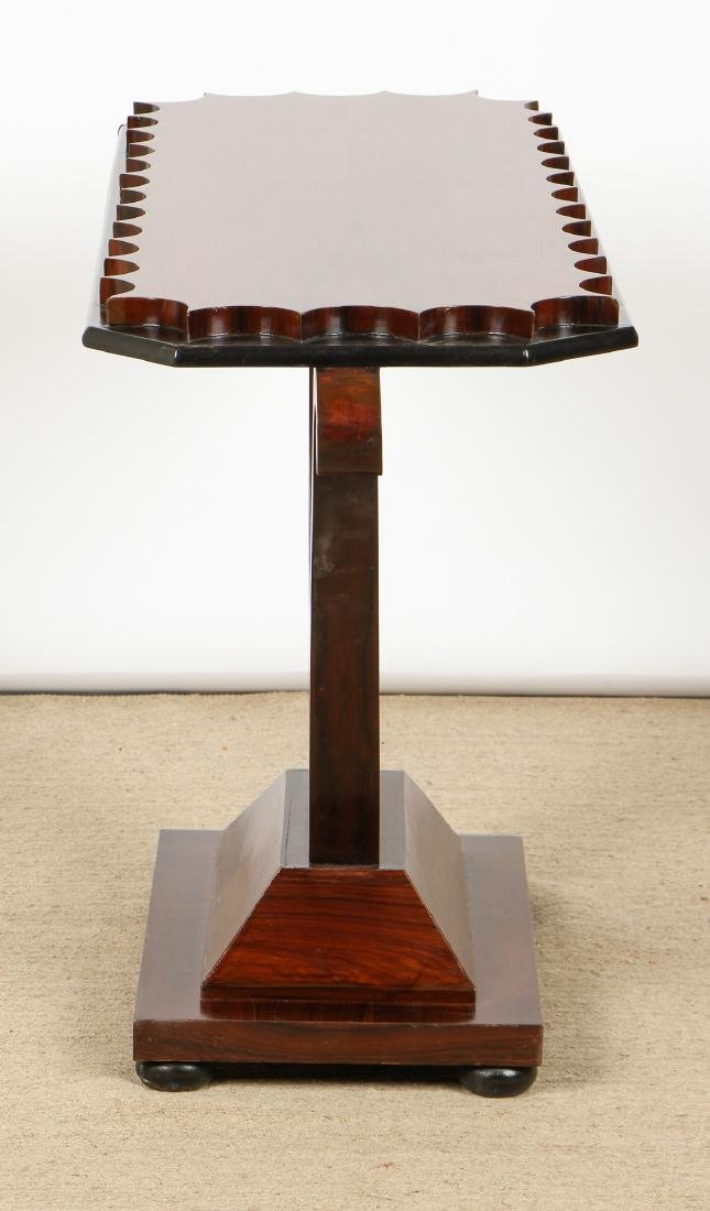 Modern Rosewood Sofa Table/Console - 3