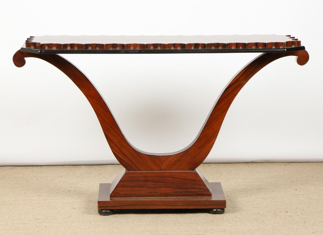 Modern Rosewood Sofa Table/Console - 4
