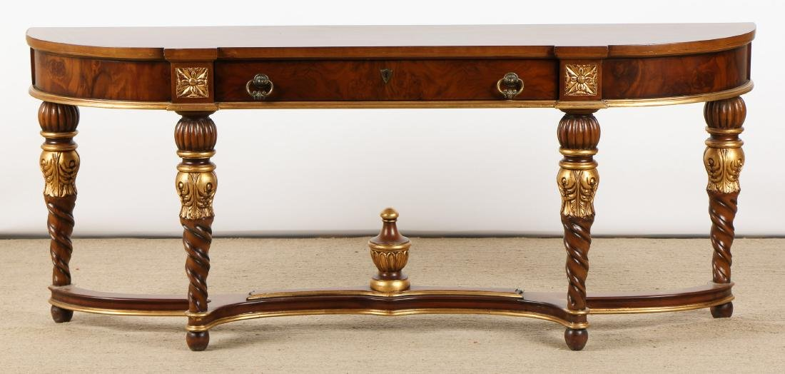Modern Edwardian Style Console Table