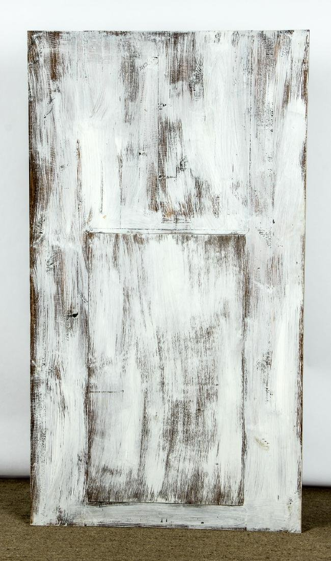"""Large Modern Painted Mirror: Ht 72"""" - 4"""