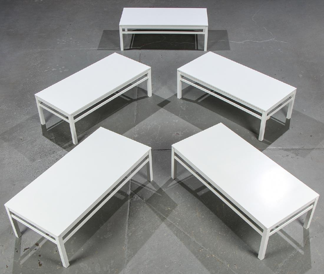 5 Modern White Wood Coffee Tables